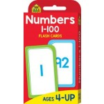School Zone Flash Cards Numbers 1-100 (Min Order Qty 2)