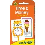 School Zone Flash Cards Time & Money (Min Order Qty 2)