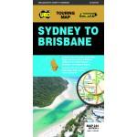 UBD/Gregory's Sydney to Brisbane Map #244 - 9th Ed (Min Ord Qty 2)