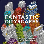***Coming July 2021*** Fantastic Cityscapes Colouring Book (Min Ord Qty 2)