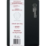 UPWARD 2020 A5 DAY TO PAGE STANDARD DIARY (BLACK) (Available August)