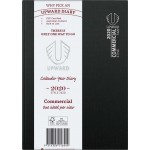 UPWARD 2020 A5 WEEK TO VIEW COMMERCIAL DIARY (BLACK) (Available August)