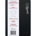 Upward 2022 A5 Day to Page Standard Diary Black (Min Order Qty 2) ***Available August 2021***