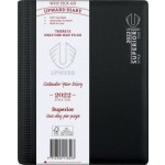 Upward 2022 A5 Day to Page Superior Diary Black (Min Order Qty 2) ***Available August 2021***