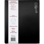 Upward 2021 A4 Day to Page Deluxe Diary Black (Min Order Qty 1) Available August 2020
