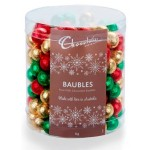 ***PRE-ORDER***  Chocolatier Foiled Baubles 1kg Tub (Individually Wrapped) - Min order Qty 1