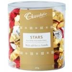 ***PRE-ORDER***  Chocolatier Pure Milk Tub of Foiled Stars (Min. Order 1)