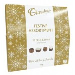 ***PRE-ORDER*** Chocolatier Gold Festive Selection 135g (Min Order Qty 1)