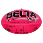 Aussie Rules Football Synthetic Size 2 Pink (Min Order Qty 2)