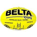 Aussie Rules Football PVC Midi FLURO YELLOW C70 (Min Order Qty 1)